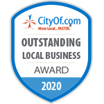 CityOf.com Outstanding Local Business Award - 2020