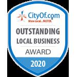 CityOf.com Outstanding Local Business Award - 2020