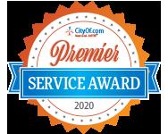 CityOf.com Premier Service Award - 2020