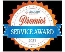 CityOf.com Premier Service Award - 2021