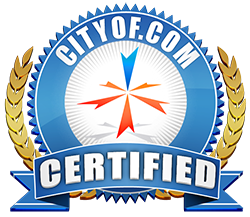 CityOf.com Certified Badge