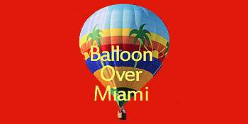 Balloon Over Miami
