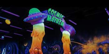 Cosmic Mayhem - Black Light Mini Golf