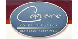 Copley's On Palm Canyon