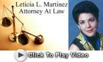 Leticia L. Martinez Attorney At Law