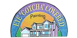 "Eye ""Gotcha"" Covered Painting"