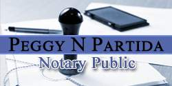 Peggy N Partida Notary Public