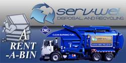 A Rent-A-Bin and Serv-Wel Disposal & Recycling
