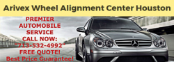 Arivex Wheel Alignment Center Houston