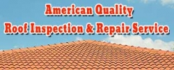 American Quality Roof Inspection & Repair Service