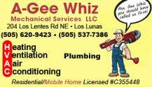 A-Gee Whiz Mechanical Services, LLC