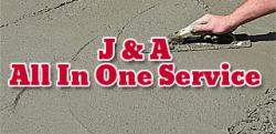 J & A All In One Service