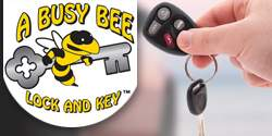A Busy Bee Lock & Key