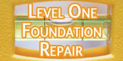 Level One Foundation Repair