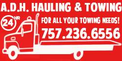 ADH Hauling & Towing