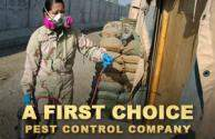 A First Choice Pest Control Company