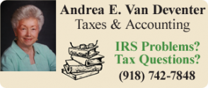 Andrea E. Van Deventer Taxes & Accounting