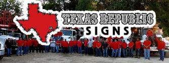 Texas Republic Signs