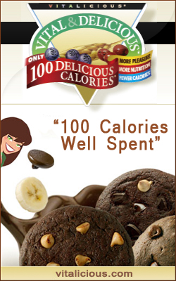 Vitalicious Natural Muffins-100 Delicious Calories